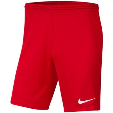 Nike FußballshortsDRI-FIT PARK 3 - BV6865-657 rot