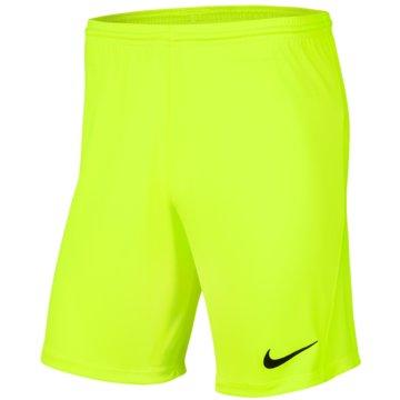 Nike FußballshortsDRI-FIT PARK 3 - BV6865-702 gelb