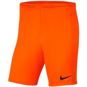 Nike Fußballshorts orange