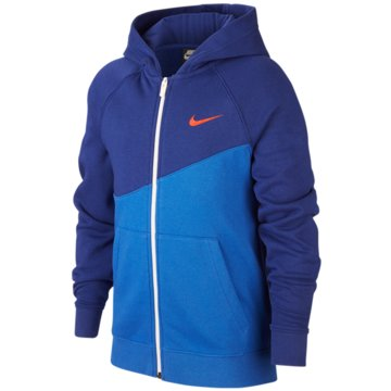 Nike SweatjackenB NSW SWOOSH HOODIE FZ FT - CJ6968 blau
