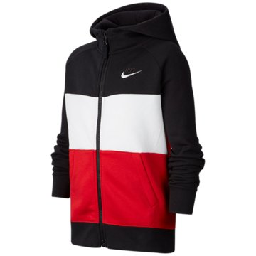 Nike SweatjackenNike Air Big Kids' (Boys') Full-Zip Hoodie - CJ7855-011 schwarz