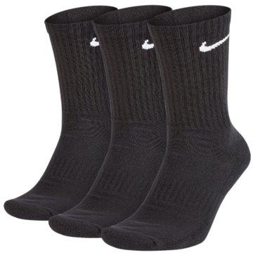 Nike Hohe SockenEVERYDAY CUSHIONED - SX7664-010 schwarz