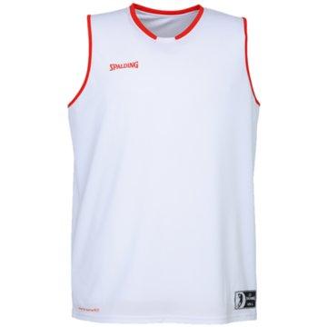 Spalding Basketballtrikots weiß