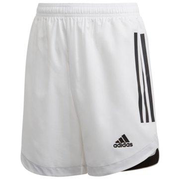 adidas Fußballshorts weiß
