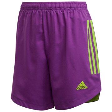 adidas Fußballshorts lila