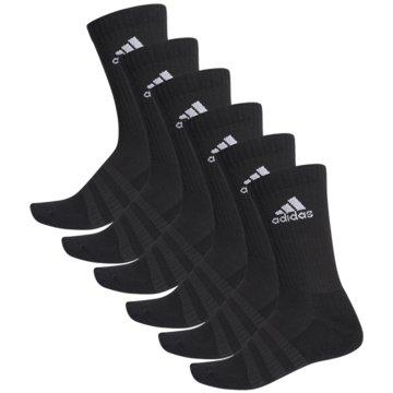 adidas Hohe SockenCUSH CRW 6PP - DZ9354 schwarz