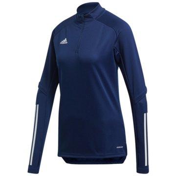 adidas FleecejackenCON20 TR TOP W - FS7093 blau