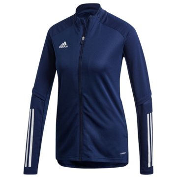 adidas Fleecejacken blau