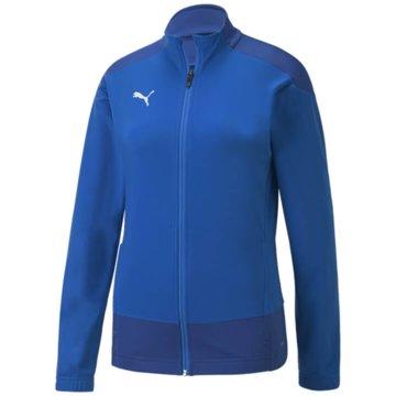 Puma Fleecejacken blau