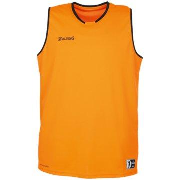 Spalding Basketballtrikots gelb