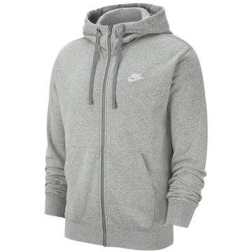 Nike SweatjackenNike Sportswear Club Men's Full-Zip Hoodie - BV2648-063 grau