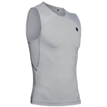 Under Armour Tanktops RUSH? HEATGEAR® ÄRMELLOSES KOMPRESSIONSSHIRT - 1353448 grau