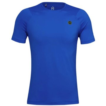 Under Armour FunktionsshirtsHG RUSH COMPRESSION SS - 1353449 blau
