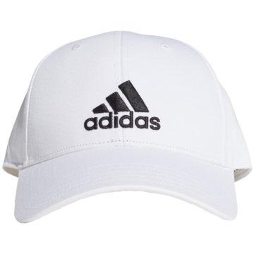 adidas CapsBASEBALL KAPPE - FK0890 weiß