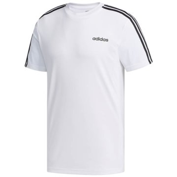 adidas T-ShirtsDesign2Move 3-Stripes Tee weiß