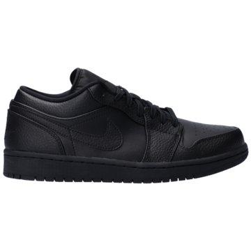 Jordan HallenschuheAir Jordan 1 Low Shoe - 553558-091 schwarz