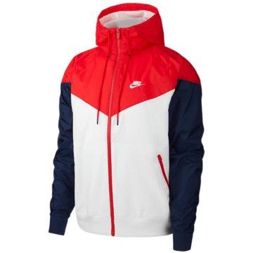 Nike SweatjackenSPORTSWEAR WINDRUNNER - AR2191-104 weiß