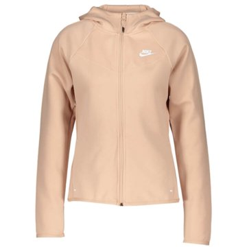 Nike Sweatjacken beige