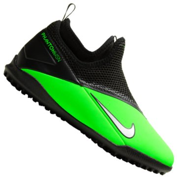 Nike Multinocken-SohleNike Jr. Phantom Vision 2 Academy Dynamic Fit TF Little/Big Kids' Artificial-Turf Soccer Shoe - CD4078-306 grün