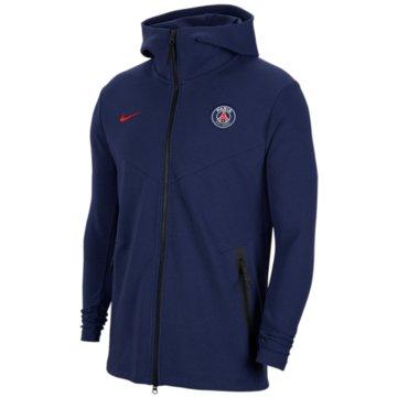 Nike Fan-Jacken & WestenParis Saint-Germain Tech Pack Men's Full-Zip Hoodie - CI9272-410 -