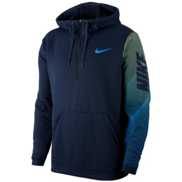 Nike HoodiesNike Dri-FIT Men's Fleece 1/2-Zip Training Hoodie - CJ4429-451 -