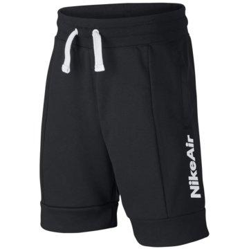 Nike Kurze SporthosenNike Air Big Kids' (Boys') Shorts - CJ7858-011 schwarz