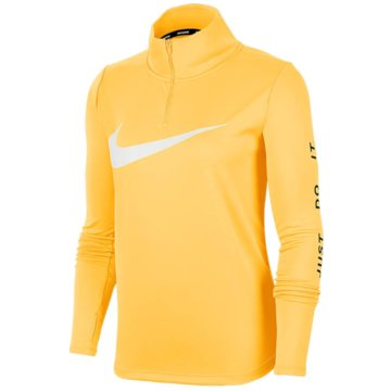 Nike SweatshirtsNike Women's 1/4-Zip Running Top - CK0175-795 gold