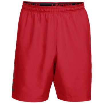 Under Armour kurze SporthosenSHORTS WOVEN GRAPHIC WORDMARK - 1320203 rot