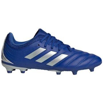 adidas Nocken-SohleCOPA 20.3 FG J blau
