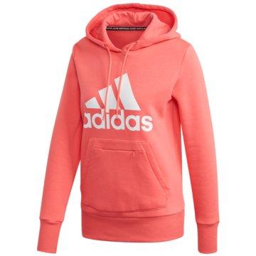 adidas HoodiesW BOS OH HD - FR5106 coral