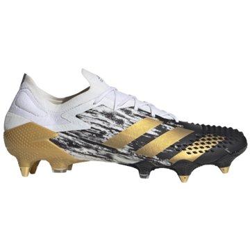 adidas Stollen-SohlePredator Mutator 20.1 Low SG weiß