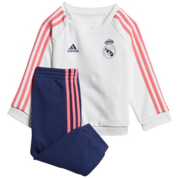 adidas FanartikelREAL MADRID 3-STREIFEN BABY-JOGGINGANZUG - GH9990 -