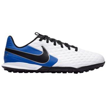 Nike Multinocken-SohleNike Jr. Tiempo Legend 8 Academy TF Little/Big Kids' Artificial-Turf Soccer Shoe - AT5736-104 weiß