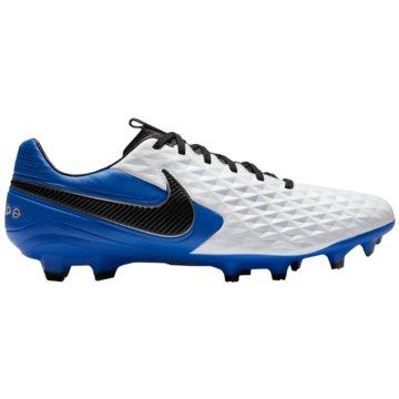 Nike Nocken-SohleNike Tiempo Legend 8 Pro FG Firm-Ground Soccer Cleat - AT6133-104 weiß