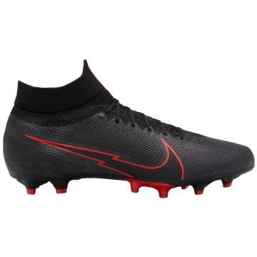Nike Nocken-SohleNike Mercurial Superfly 7 Pro AG-PRO Artificial-Grass Soccer Cleat - AT7893-060 schwarz