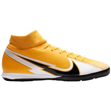 Nike Hallen-SohleMERCURIAL SUPERFLY 7 ACADEMY IC - AT7975-801 orange