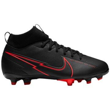 Nike Nocken-SohleNike Jr. Mercurial Superfly 7 Academy MG Kids' Multi-Ground Soccer Cleat - AT8120-060 schwarz