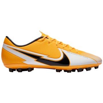 Nike Nocken-SohleNike Mercurial Vapor 13 Academy AG Artificial-Grass Soccer Cleat - BQ5518-801 orange