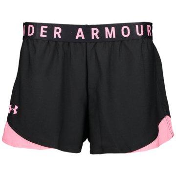 Under Armour kurze SporthosenPlay Up Shorts 3.0 Women schwarz