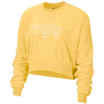 Nike SweatshirtsNSW RETRO SWEATSHIRT - CJ2485-795 gelb