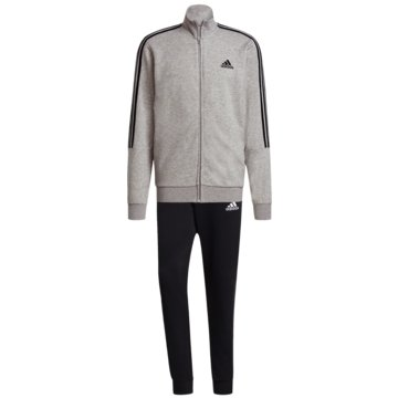adidas TrainingsanzügeAEROREADY ESSENTIALS 3-STREIFEN TRAININGSANZUG - GK9975 grau