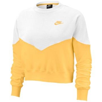 Nike SweatshirtsNike Sportswear Women's Fleece Crew - AR2505-795 gelb