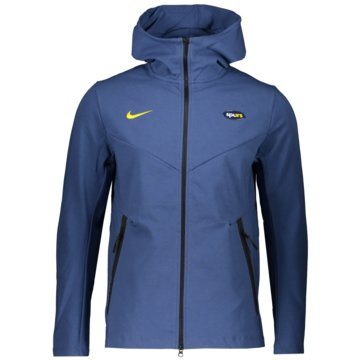 Nike Fan-Jacken & Westen blau