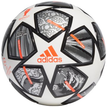 adidas FußbälleFINALE 21 20TH ANNIVERSARY UCL JUNIOR 290 LEAGUE BALL - GK3480 weiß