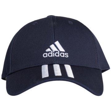 adidas CapsBASEBALL 3-STREIFEN TWILL KAPPE - GE0750 schwarz