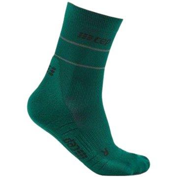 Medi Hohe Socken REFLECTIVE MID-CUT SOCKS - WP5CZ grün