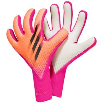 adidas TorwarthandschuheX PRO TORWARTHANDSCHUHE - GK3508 pink