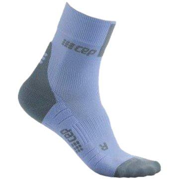 CEP Hohe Socken SHORT SOCKS 3.0, BLUE/GREY, WOM - WP4BX blau