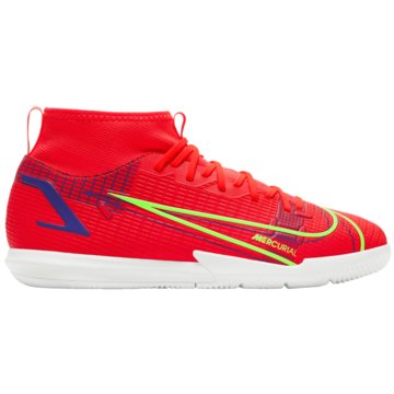 Nike Hallen-SohleMERCURIAL SUPERFLY 8 ACADEMY IC - CV0784-600 rot
