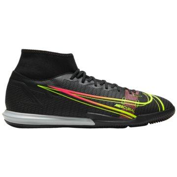 Nike Hallen-SohleMERCURIAL SUPERFLY 8 ACADEMY IC - CV0847-090 schwarz